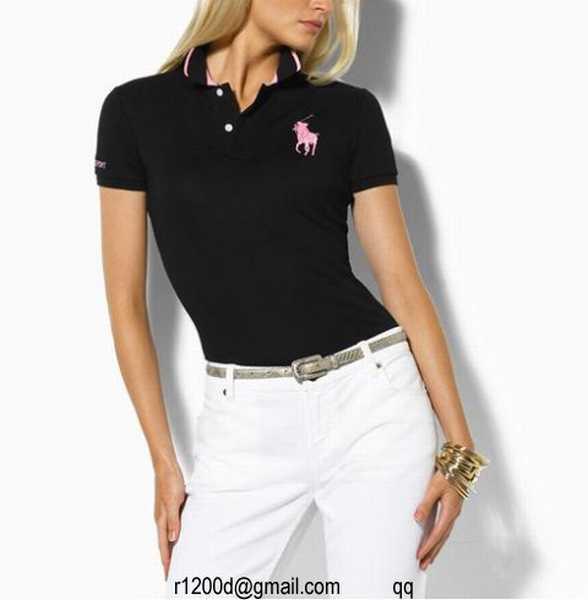 Ralph New Lauren Manche Courte Femme Polo magasin De Tee Shirt A ZOXiPukT