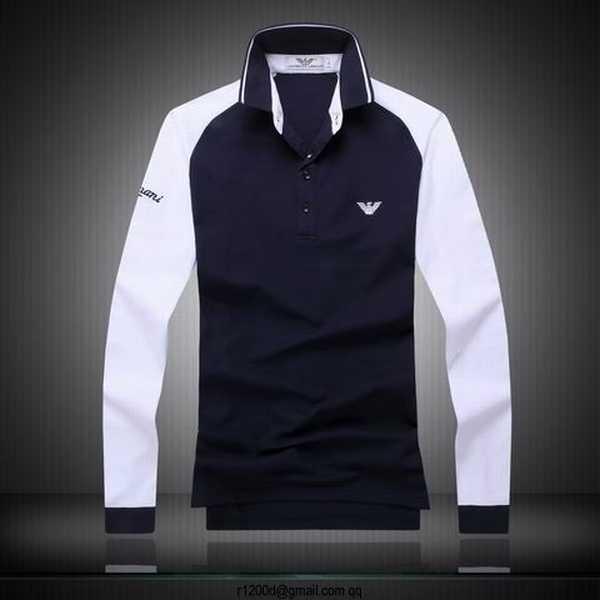 t shirt manche longue homme marque pas cher,tee shirt coton manches longues  blanc, aa7152cd886